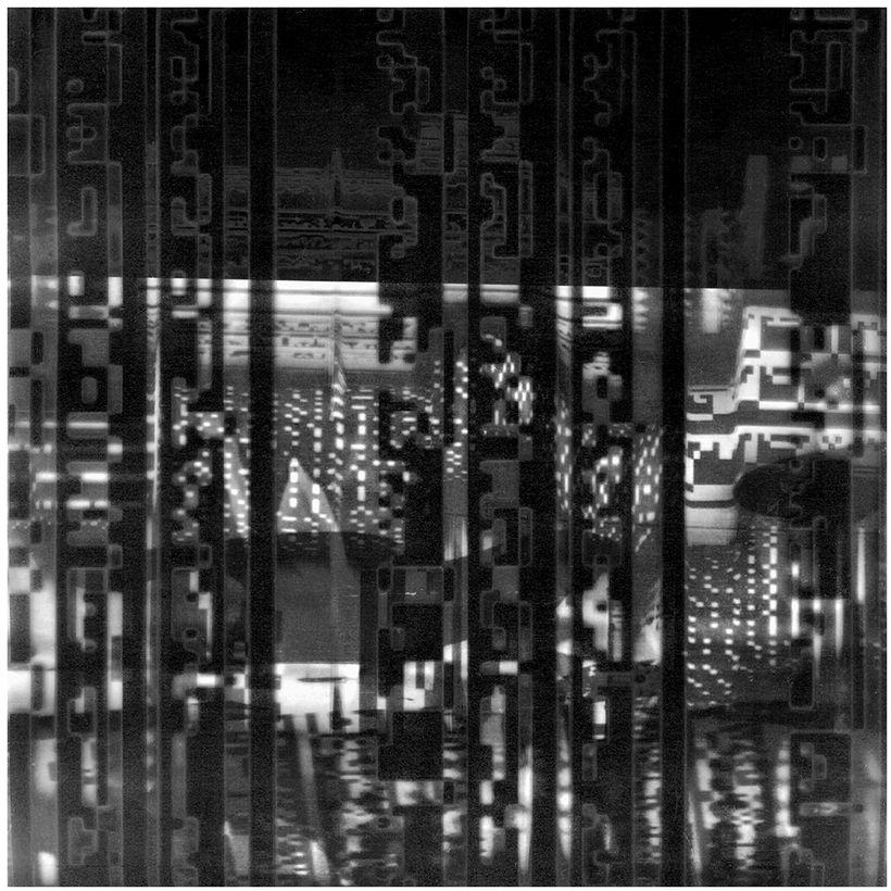 "Creighton Michael, <em>INd 6317</em> , 18"" x 18"", archival pigment print, edition of 2, 2017"