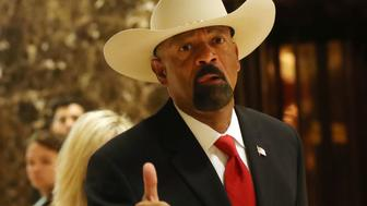 Ex-sheriff David Clarke
