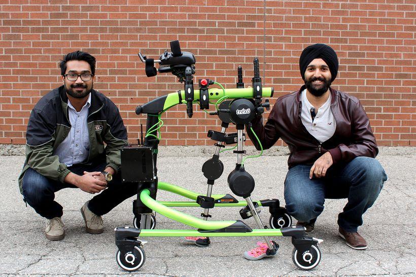 Rahul Udasi and Manmeet Maggu, Trexo Robotics