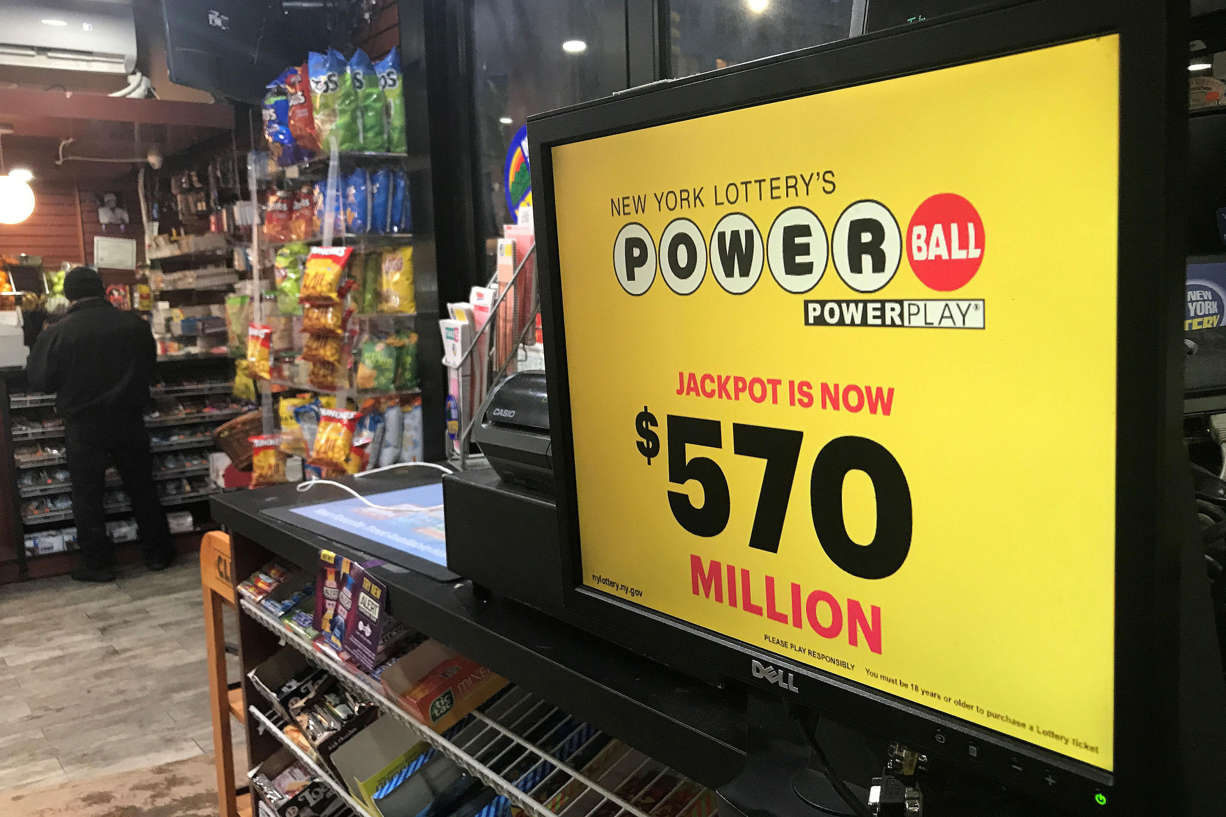 $559 Million Winning Powerball Ticket Sold In New