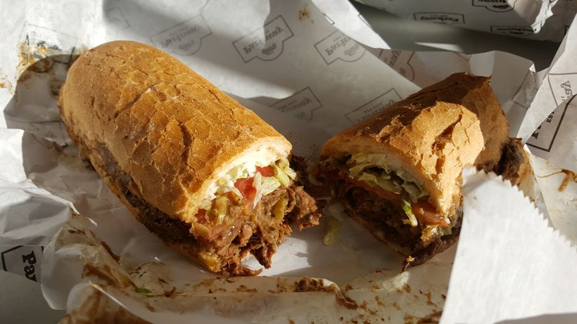 Roast beef Po Boy from Parkway Tavern in New Orleans