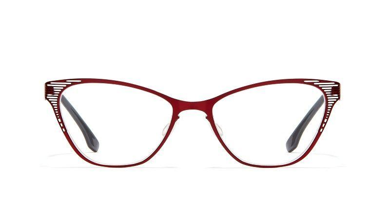 Cat-Eye Metallic Frames