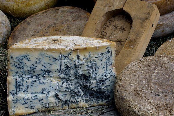 Blue Ridge Blue as made by Christian Hansen, Blue Ridge Creamery