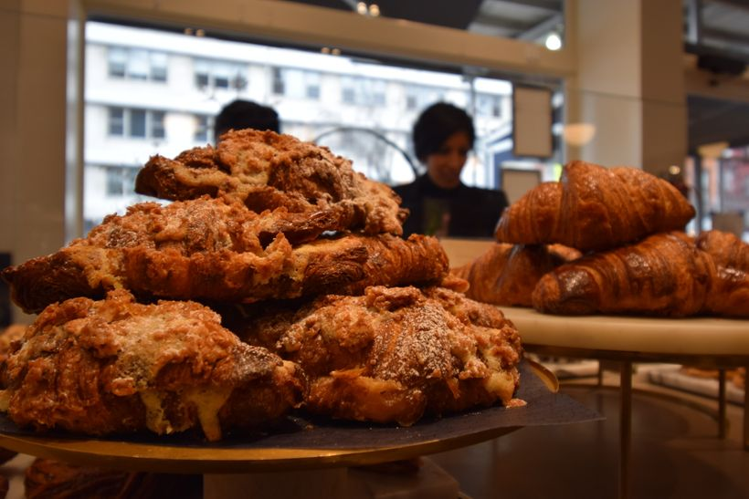 Apple Crumble Croissants and tough choices at Mah Ze Dahr bakery, NYC