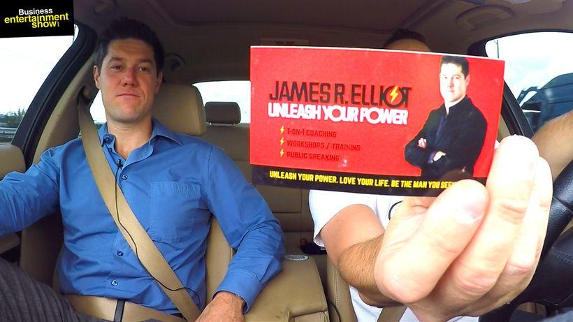 James Elliot (www.unleashyourpower.com) and host Entrepreneur Marcin Migdal
