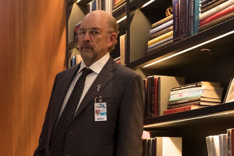 Richard Schiff as Dr. Glassman.