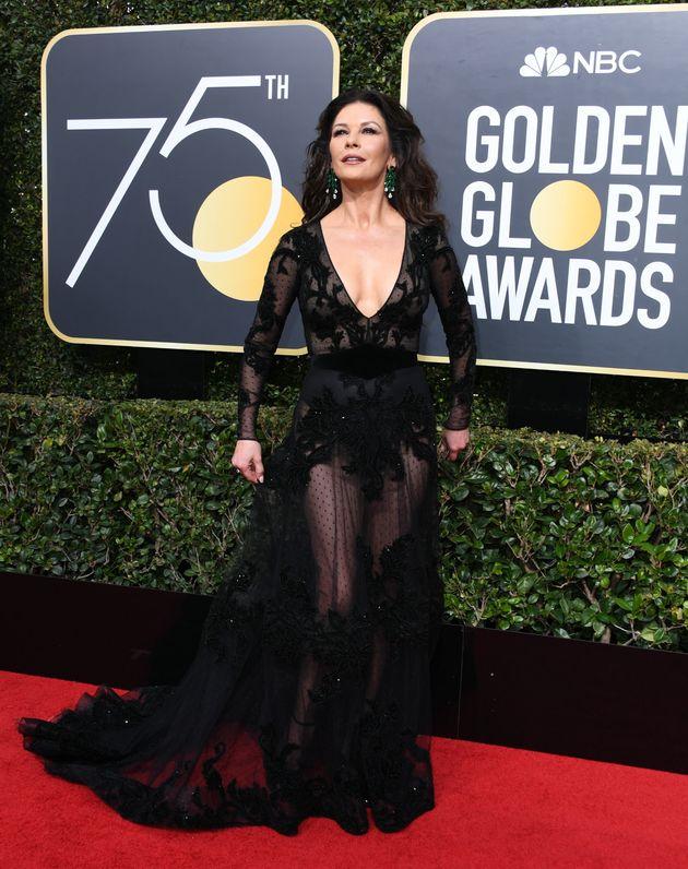 Golden Globes 2018: Meryl Streep, Michelle Williams And Tarana Burke Led The Stars Wearing Black To Show...