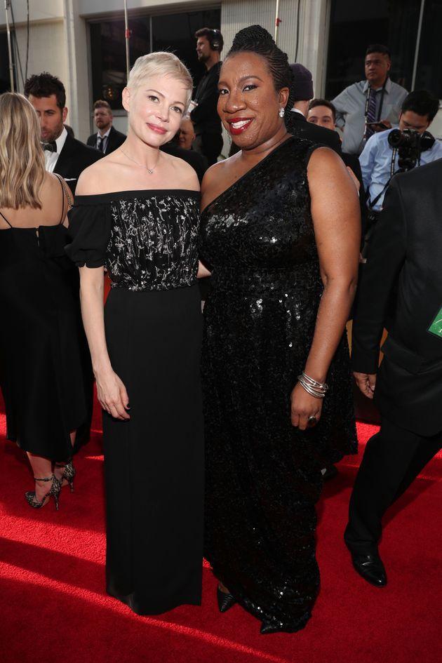 Michelle Williams and Tarana