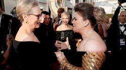 Kelly Clarkson's Reaction To Meeting Meryl Streep At The Golden Globes Is A Thing Of Pure Beauty
