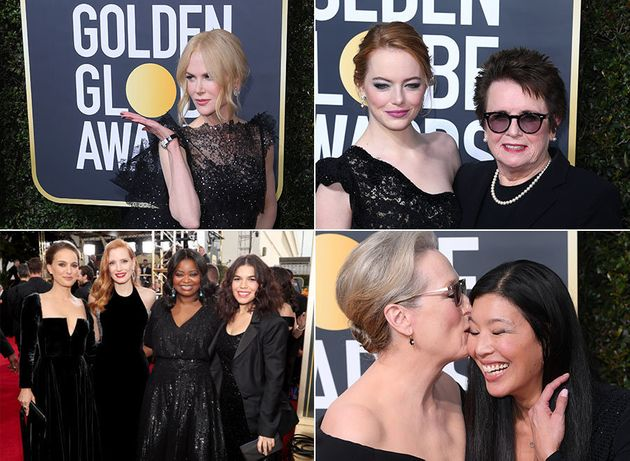 Golden Globes Red Carpet Pictures 2018: All The Photos Of The Stars On Their Way To This Year's