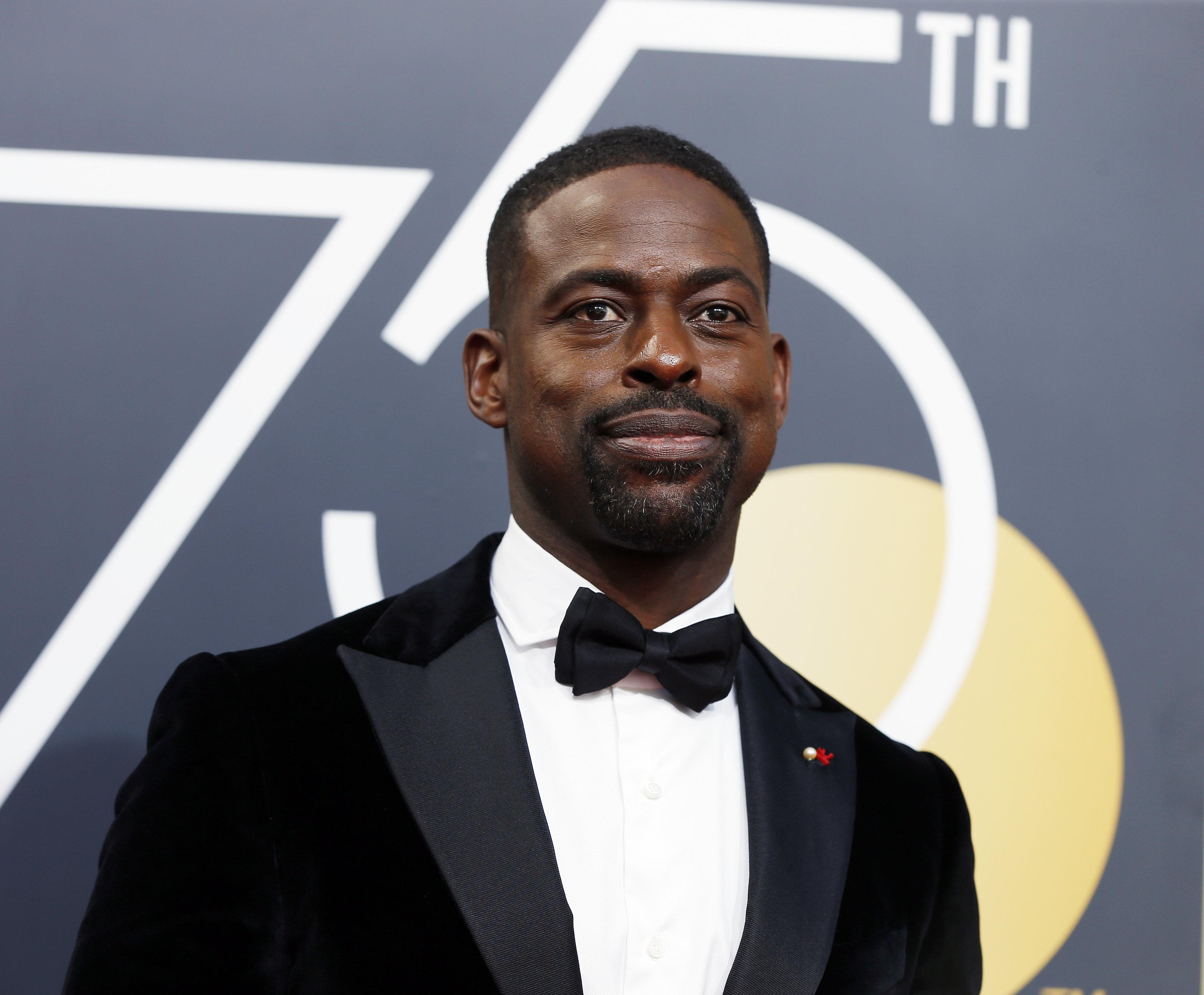 75thGolden Globe Awards – Arrivals – Beverly Hills, California, U.S.,07/01/2018– Sterling K. Brown. REUTERS/Mario Anzuoni