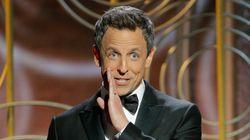 No One Knew How To Take Seth Meyers' Harvey Weinstein