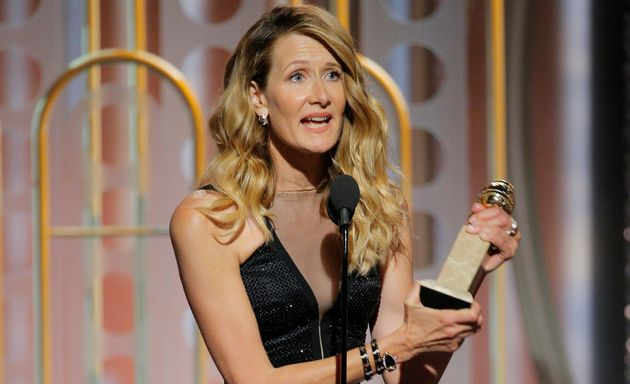 Laura Dern Calls Out A Culture Of Silencing Victims In Golden Globes