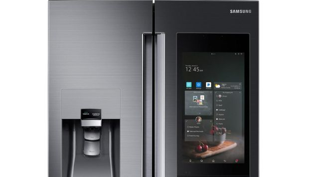 Samsung's New Fridge Has A Personal Assistant, Speaker System And A Giant