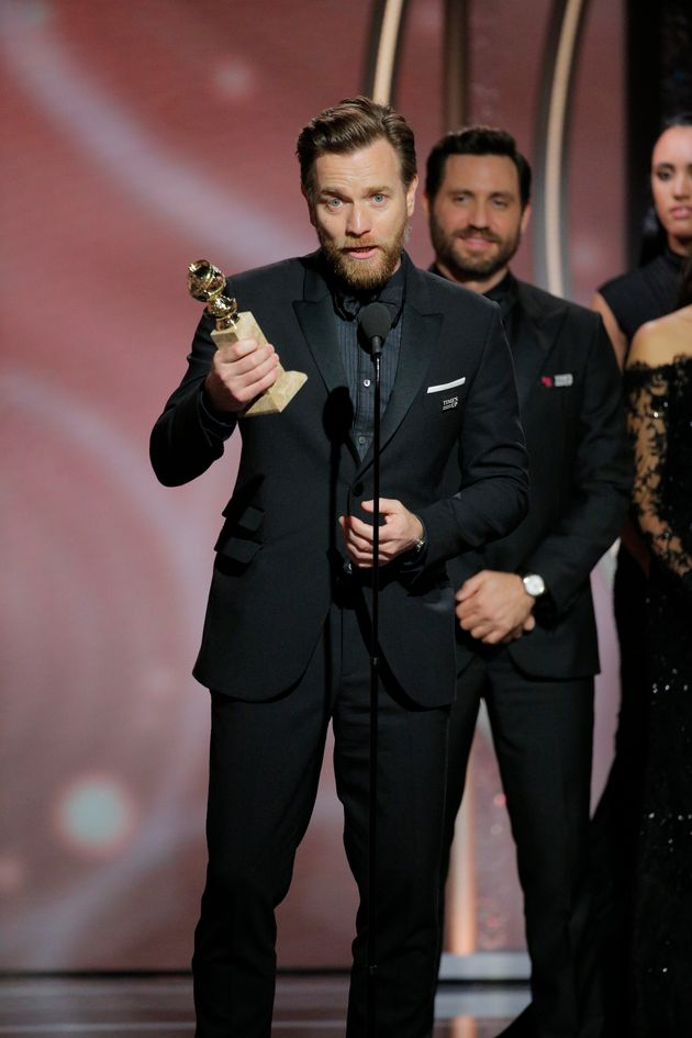 Ewan McGregor won the Best Actor in a Miniseries or Television Film