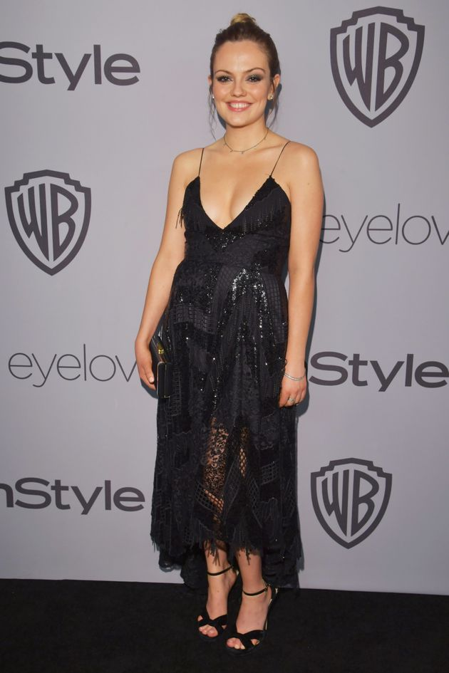 Golden Globes: The #TimesUp All-Black Look Hits The After Party With A Lace