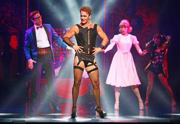 Craig on stage in 'The Rocky Horror