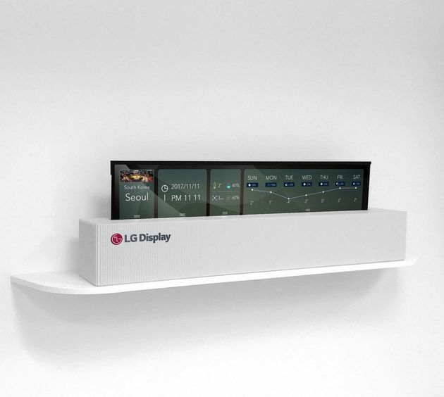 LG Unveils Stunning OLED TV That Can Be Rolled Up Like
