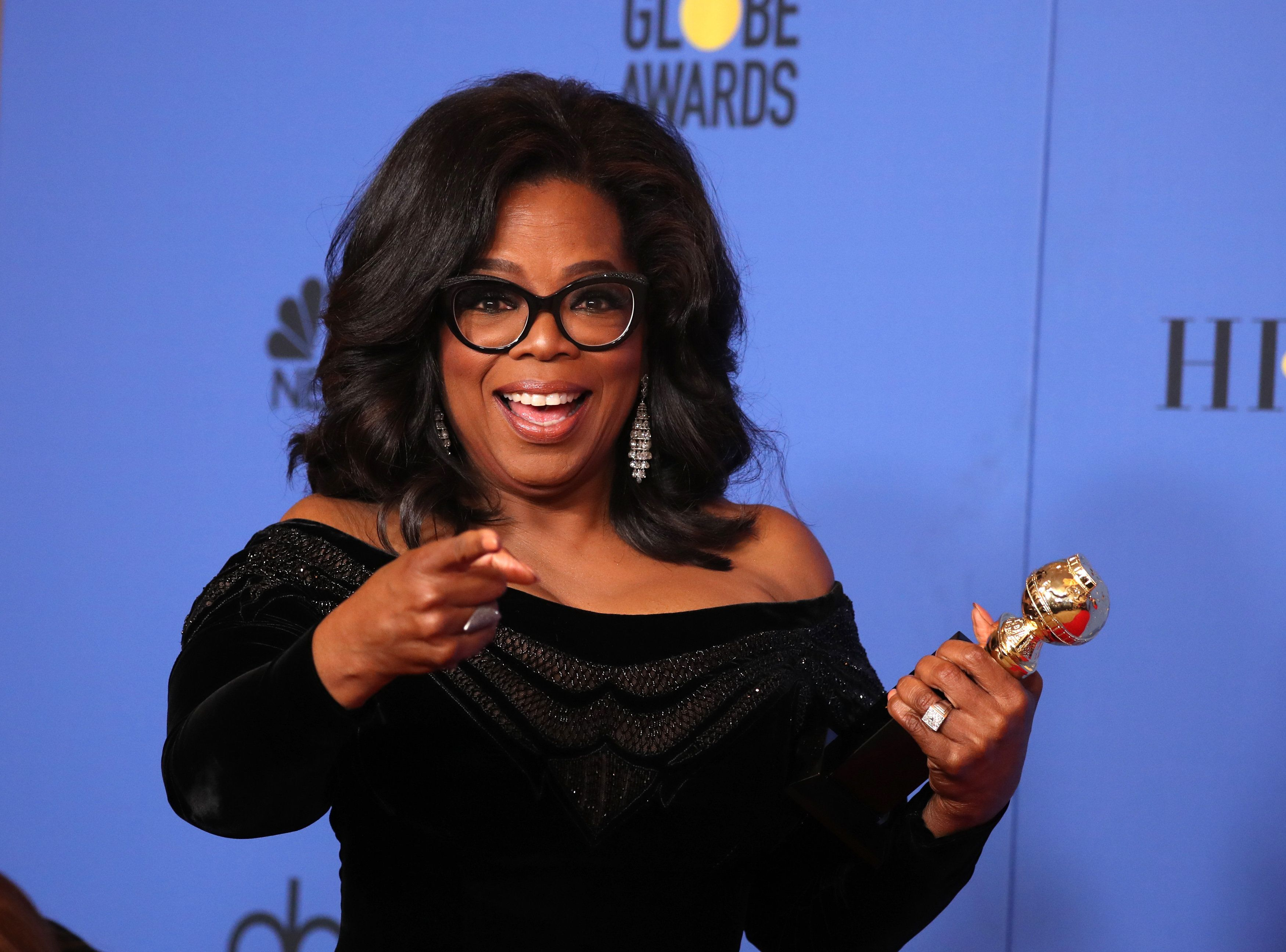 Oprah Winfrey 'Would Absolutely' Run For President... She Just Needs A