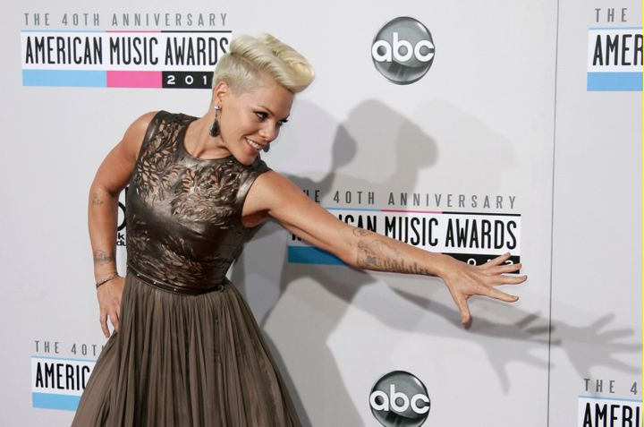 Grammy-winning singer Pink gets the opening