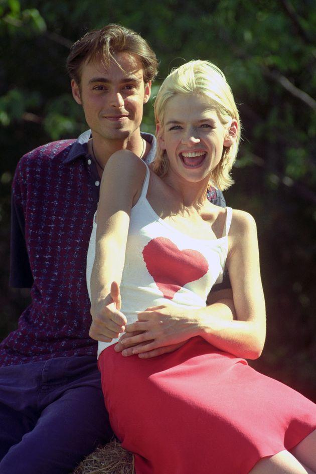 'Live & Kicking' presenters Jamie Theakston and Zoe