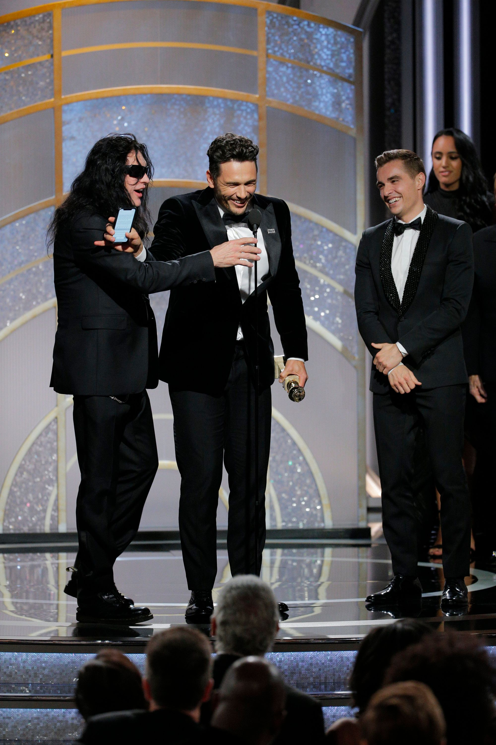 'The Room' Star Tommy Wiseau Shares The Golden Globes Speech That Never