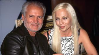 Gianni and Donatella Versace, New York, New York, 1990s. (Photo by Rose Hartman/Getty Images)