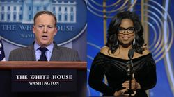 Sean Spicer rejette la candidature d'Oprah Winfrey à la présidence dû à son