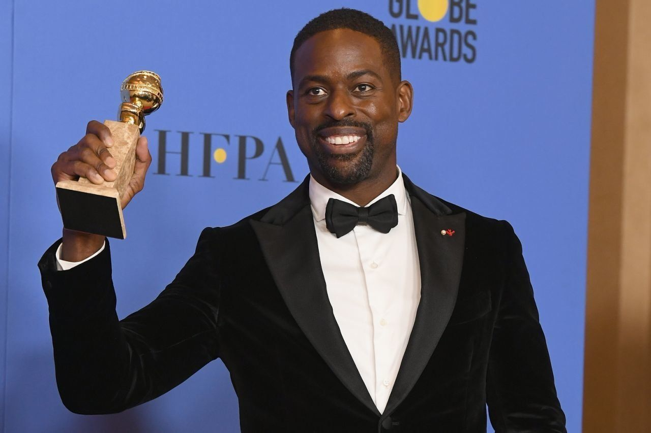 Sterling K. Brown wins a Golden Globe for his performance in