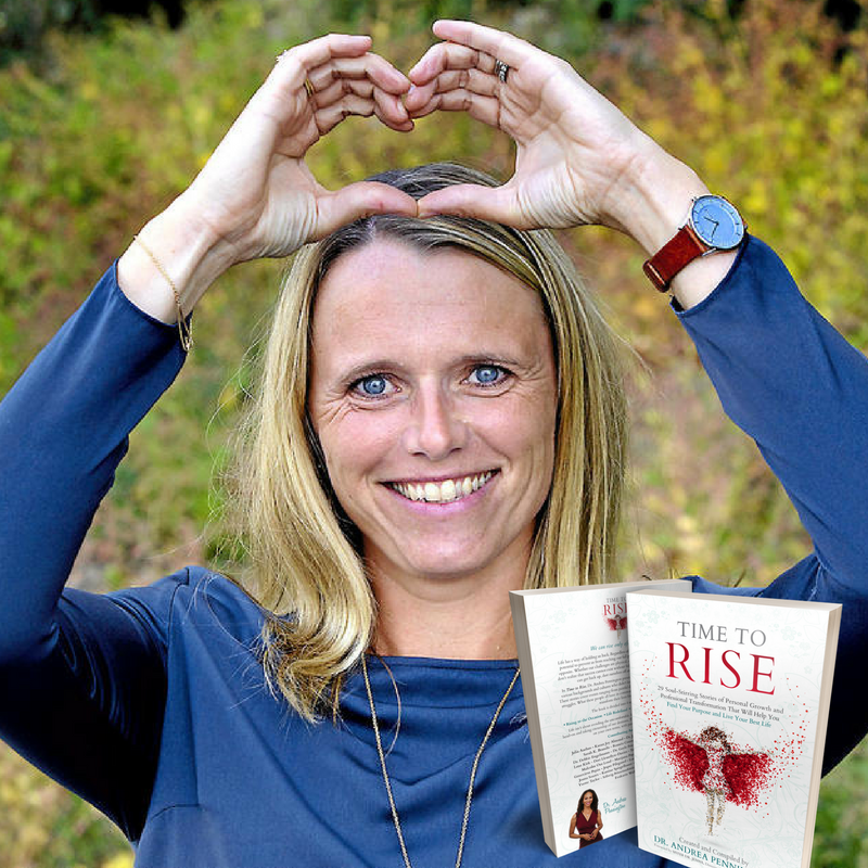 Time to Rise author, Gitte Winter Graugaard