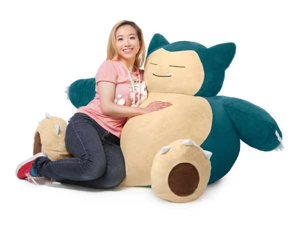 "Are you a, shall we say, ""husky"" person who travels a lot? Surely, the <a href=""https://www.fun.com/snorlax-bean-bag-chair.ht"