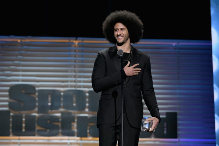Colin Kaepernick now has Martin Luther King Jr. by his side in the fight against injustice.