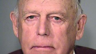 Cliven Bundy is pictured in this undated booking handout image provided by the Multnomah County Sheriff's Office, February 11, 2016.  Bundy was arrested on Wednesday when he arrived at Portland International Airport on his way to the wildlife refuge to support the militants, according to the Oregonian newspaper.  REUTERS/Multnomah County Sheriff's Office/Handout via Reuters ATTENTION EDITORS  -  FOR EDITORIAL USE ONLY. NOT FOR SALE FOR MARKETING OR ADVERTISING CAMPAIGNS