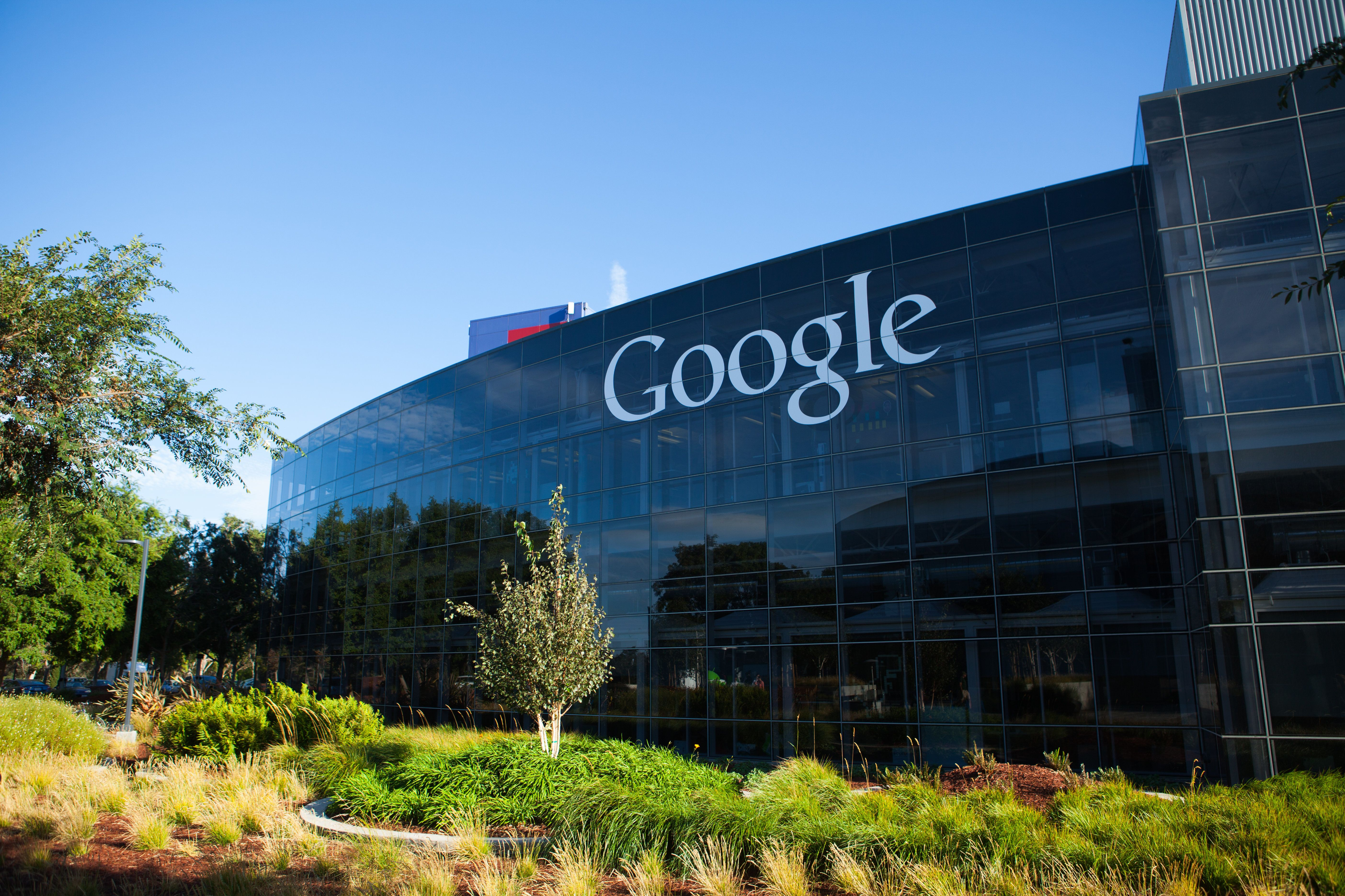 Google's workforce is disproportionately white and