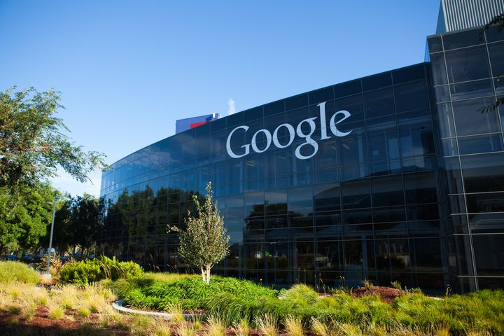 Google's workforce is disproportionately white and male.
