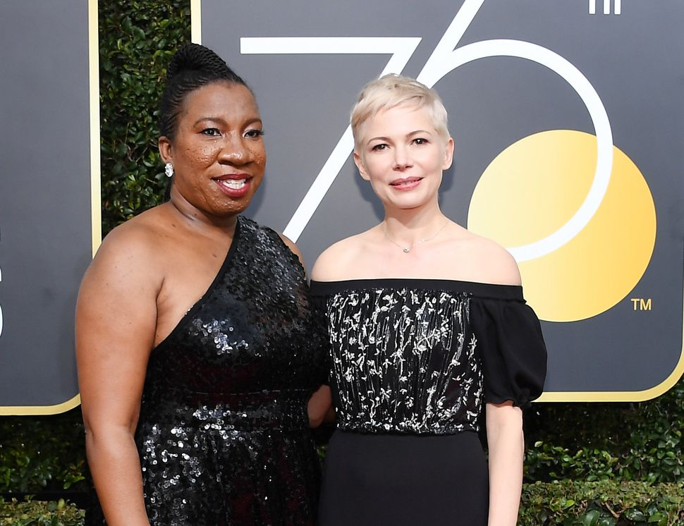 "Tarana Burke, who attended the show with Michelle Williams,&nbsp;<a href=""https://www.huffpost.com/entry/the-me-too-campaign-"