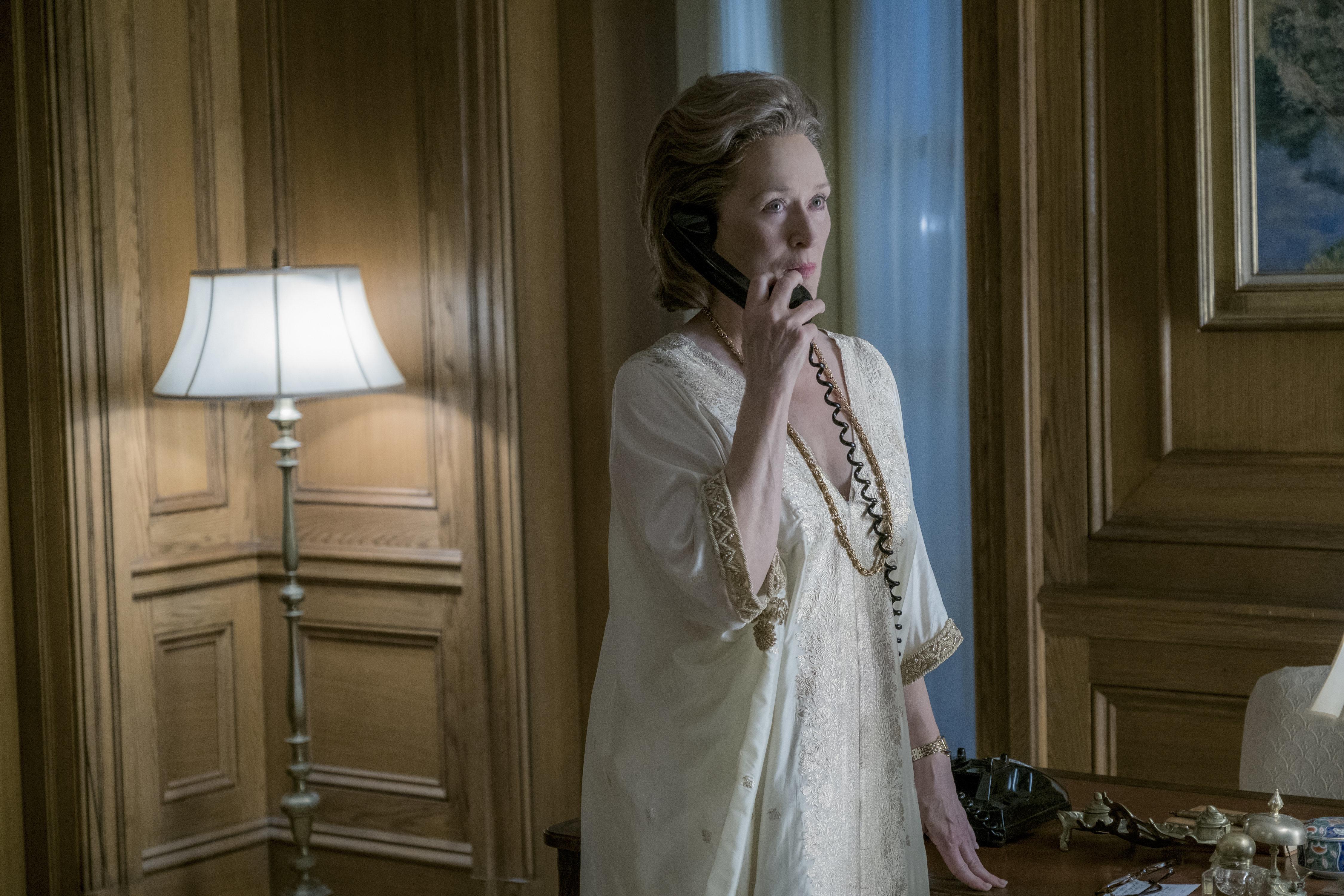 Por dentro da cena mais eletrizante de Meryl Streep em 'The Post - A Guerra