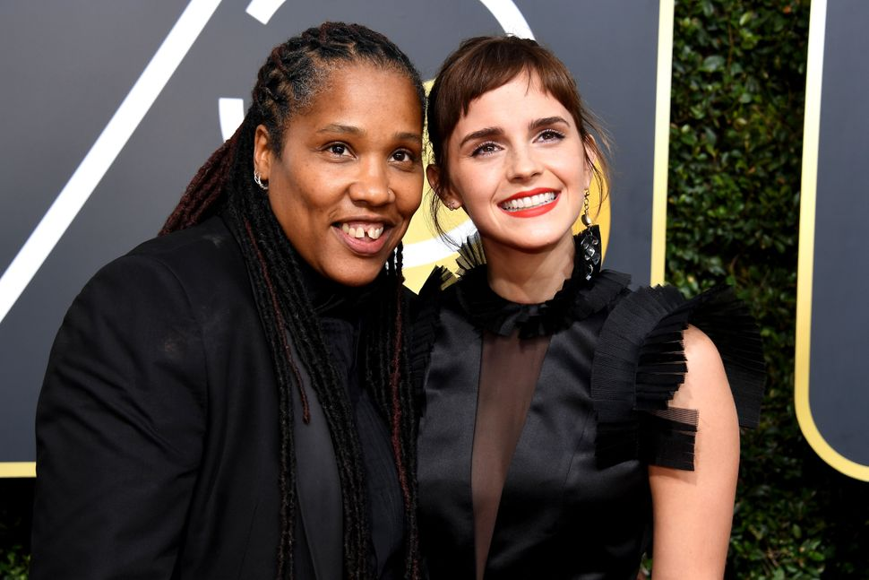 Marai Larasi, Emma Watson's guest to the Golden Globes, has been involved in activism around ending violence against wo