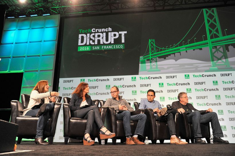 TechCrunch Disrupt 2016 in San Francisco, California.