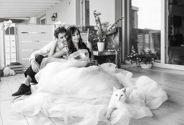 The post-wedding shoots produced some seriously stunning photos.