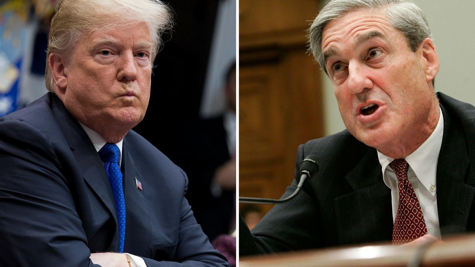 Weißes Haus schweigt zu möglicher Befragung Trumps durch Mueller