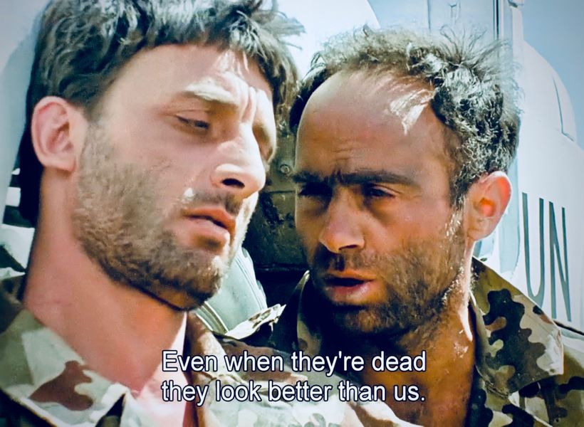 <strong>In the anti-war comedy classic, </strong><em>Avanti Popolo </em>(1986), two Egyptian soldiers, trying to get home aft