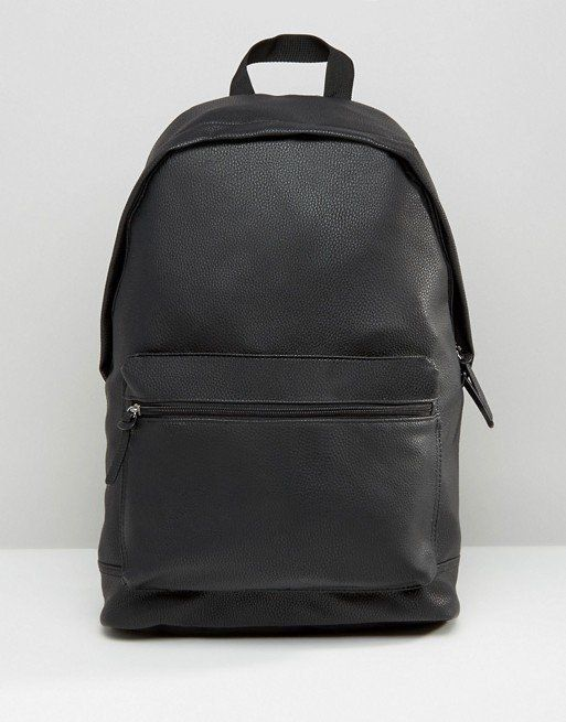 """Get it <a href=""""http://us.asos.com/asos/asos-backpack-in-grain-faux-leather/prd/6506013"""" target=""""_blank"""">here</a>."""