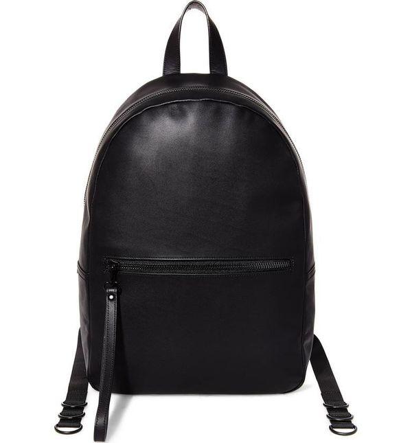 "Get it <a href=""https://shop.nordstrom.com/s/gq-x-steve-madden-leather-backpack/4760510?top=72&flexi=8000485_60129372%7C8"