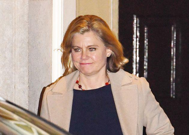 Justine Greening leaves