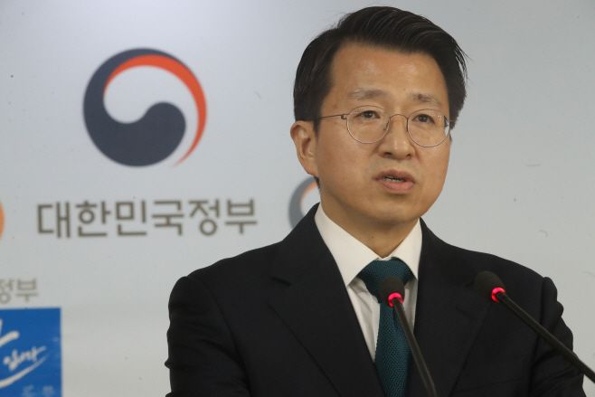 The Unification Ministry spokesperson Baik Tae-hyun/ Source: Yonhap News