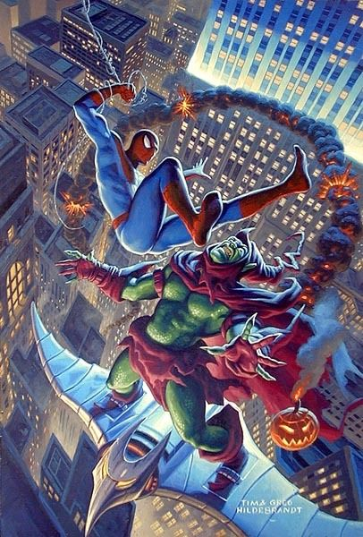 The Brothers Hildebrandt - Copyright Marvel