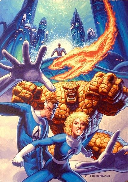 The Brothers Hildebrandt - Copyright Marvel
