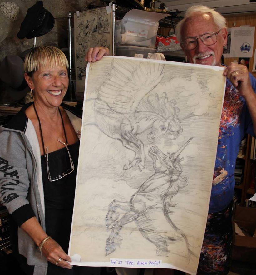 Greg Hildebrandt and Jean Scrocco  -  Spiderweb Gallery