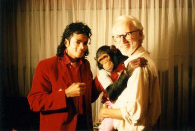 Greg Hildebrandt and Michael Jackson - Spiderweb Gallery